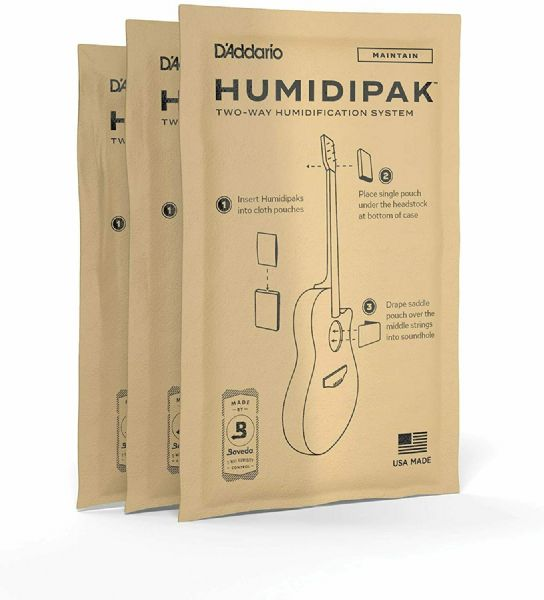 Planet Waves Humidipak System Replacement Packets - Pack of 3 - PW-HPRP-03